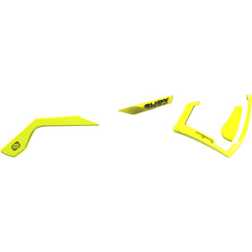 Rudy Project Defender Chromatic Full Custom Kit Yellow Fluo / Black Emblems